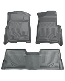 Husky Liners - Front & 2nd Seat Floor Liners (Footwell Coverage) - 98332