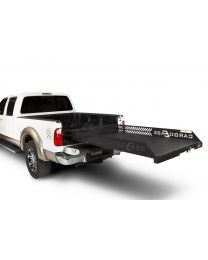 Cargo Ease - Full Extension Series Cargo Slide 2000 Lb Capacity 92-11 F150 Supercrew Bed W/Bedliner 01-Pres Ford Raptor 10-Pres Lincoln Mark Lt 06-08 Dodge Ram 1500 Crew Cab 5.7 Ft 09-Pres Suburban Yukon Xl 5.5 Ft