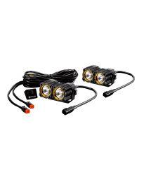 KC Hilites - KC FLEX LED DUAL PAIR PACK SYSTEM - #267 - 267