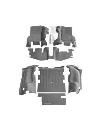 BedRug - JEEP COMBO BedTred 1997-06 Jeep TJ (with console) (Includes Front and Cargo Kit) - CBTTJ97