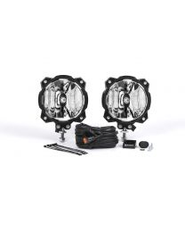 KC Hilites - Gravity LED Pro6 Single Spot Beam Pair Pack System – #91301  - 91301