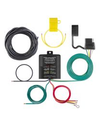 Curt - Powered 3-to-2-Wire Taillight Converter - 59496