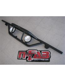 N-FAB - Rear-runner Light Bar; Black Powder Coated; Incl. Light Tabs; - T05RR
