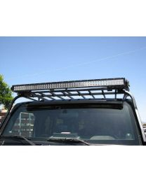 Garvin Wilderness - 50in.  Light Bar Mounting Bracket, 4in. H Rack w/no front slope - 88050