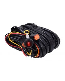 KC Hilites - Wiring Harness for Two Backup Lights with 2-Pin Deutsch Connectors - KC #63091 - 63091