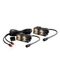 KC Hilites - KC FLEX LED DUAL PAIR PACK SYSTEM - #268 - 268