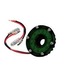 KC Hilites - Cyclone LED Light - KC #1355 (Green) - 1355