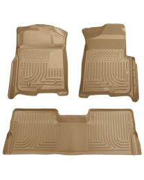 Husky Liners - Front & 2nd Seat Floor Liners (Footwell Coverage) - 98333