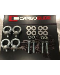 Cargoglide - Cargoglide Installation Kit Includes Bolts And Aluminum Washers Needed To Install An 79 Inch Or Shorter Cargoglide - Cgik-alum4