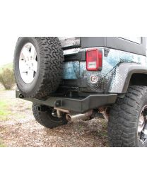 Garvin Wilderness - Rear Bumper, JK, No Swing-Away, G2 Series - 66710