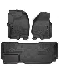 Husky Liners - Front & 2nd Seat Floor Liners (Footwell Coverage) - 99721