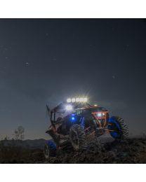 KC Hilites - Gravity LED Pro6 Polaris RZR 5-Light Combo LED Light Bar - #91309 - 91309