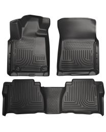Husky Liners - Front & 2nd Seat Floor Liners (Footwell Coverage) - 98581
