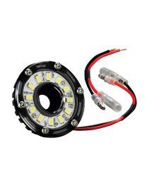 KC Hilites - Cyclone LED Light - KC #1350 (Clear) - 1350