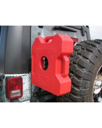 Garvin Wilderness - Rotopax Can Mount, G2 Series, JK, Driverft. s Side - 66715