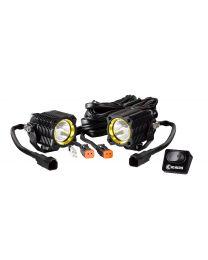 KC Hilites - KC FLEX Single LED System (pr) - Spot Beam - KC #270 - 270