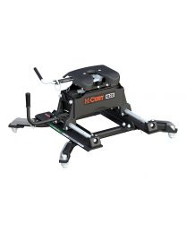 Curt - Q20 5th Wheel Hitch with Roller and Ram Puck System Adapter - 16687