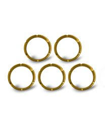 KC Hilites - KC FLEX Bezels - Gold ED Coated (5 pack) - #30562 - 30562