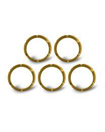 KC Hilites - KC FLEX Bezels - Gold ED Coated (5 pack) - #30562 - 30562