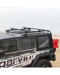 Garvin Wilderness - Expedition Rack, JK Wrangler Unlimited, 4 Door - 44074
