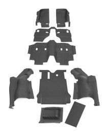 BedRug - JEEP COMBO BedTred 2007-10 Jeep JK 2 Dr (Includes Front and Cargo Kit) - CBTJK072
