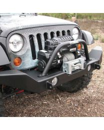 Garvin Wilderness - G2 Series Front Bumper, 2012-2013 JK Wrangler, Full-Width - 66063