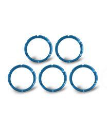 KC Hilites - KC FLEX Bezels - Blue ED Coated (5 pack) - 30563
