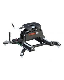 Curt - Q24 5th Wheel Hitch with Roller and Ram Puck System Adapter - 16688