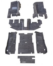 BedRug - JEEP COMBO BedRug 2004-06 Jeep LJ (w/o console) (Includes Front and Cargo Kit) - CBRLJ04NC