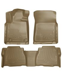 Husky Liners - Front & 2nd Seat Floor Liners (Footwell Coverage) - 98583