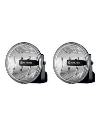 KC Hilites - Gravity LED G4 Fog Light Pair Pack System #495 - ( Amber Universal ) - 495