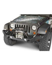 Garvin Wilderness - G2 Series Front Bumper, 2012-2015 JK Wrangler, Full-Width w/storage - 66093