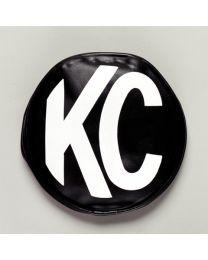 "KC Hilites - 8"" Vinyl Cover - KC #5800 (Black with White KC Logo) - 5800"