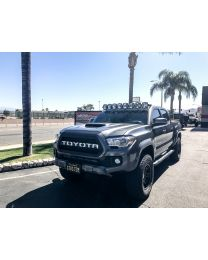 KC Hilites - Gravity LED Pro6 05-18 Toyota Tacoma 8-light Combo LED Light Bar – #91331 - 91331