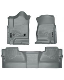 Husky Liners - Front & 2nd Seat Floor Liners (Footwell Coverage) - 98232