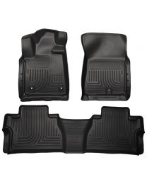 Husky Liners - Front & 2nd Seat Floor Liners (Footwell Coverage) - 99581