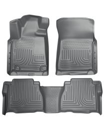 Husky Liners - Front & 2nd Seat Floor Liners (Footwell Coverage) - 98582