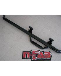 N-FAB - Nerf Step Bar Wheel To Wheel; Black Powder Coated; 3 In. Tube; - T9654RC