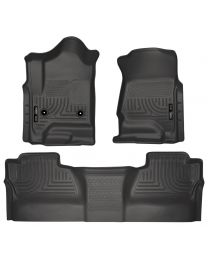 Husky Liners - Front & 2nd Seat Floor Liners (Footwell Coverage) - 98231