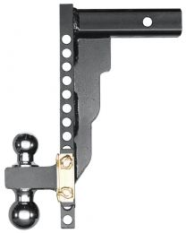 Husky Liners - Adjustable Ball Mount - 14in. Drop - 2in. Shank - 17206