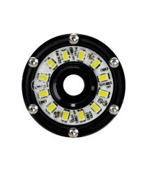 KC Hilites - Cyclone LED Rock Light Kit, Jeep JK/JL 6 PC Clear – #91025 - 91025
