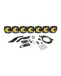 """KC Hilites - Gravity LED Pro6 17-19 Can-Am Maverick X3 7-Light 45"""" LED Light Bar - #91334 - 91334"""