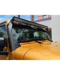 "KC Hilites - 50"" C Series C50 LED Bar & Overhead Mount Bracket Kit - Jeep JK 07-18 - KC #366 - 366"