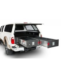 Cargo Ease - Cargo Locker Base 12 Inch Single/dual Drawer System 01-pres Ford F150 5.5 Ft Bed Dodge Ram 1500 Crew Cab 5.7 Ft Bed 09-pres Nissan Titan Crew Cab 5.8 Ft Bed W/o Bedliner Cargo Ease - Cl6548-d12-2