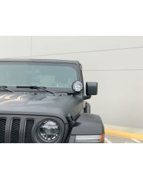 KC Hilites - KC 2018-2019 Jeep JL A-Pillar Apollo Pro Halogen Spread Beam Light Kit - #97114 - 97114