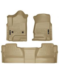 Husky Liners - Front & 2nd Seat Floor Liners (Footwell Coverage) - 98233