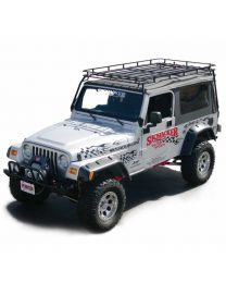 Garvin Wilderness - Expedition Rack, 04-06 Wrangler Unlimited - 34200