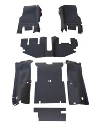 BedRug - JEEP COMBO BedTred 2004-06 Jeep LJ (without console) (Includes Front and Cargo Kit) - CBTLJ04NC