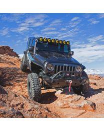 KC Hilites - Gravity LED Pro6 07-18 Jeep JK 8-Light Combo Beam LED Light Bar - #91313 - 91313