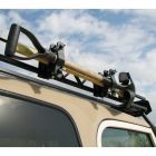Garvin Wilderness - Combo Ax & Shovel Mount, Roof Rack, 4in. H Rack - 29924